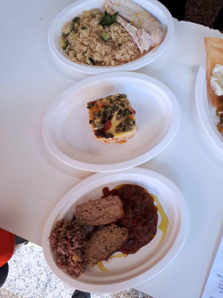 I piatti del menù della Casa Dipinta