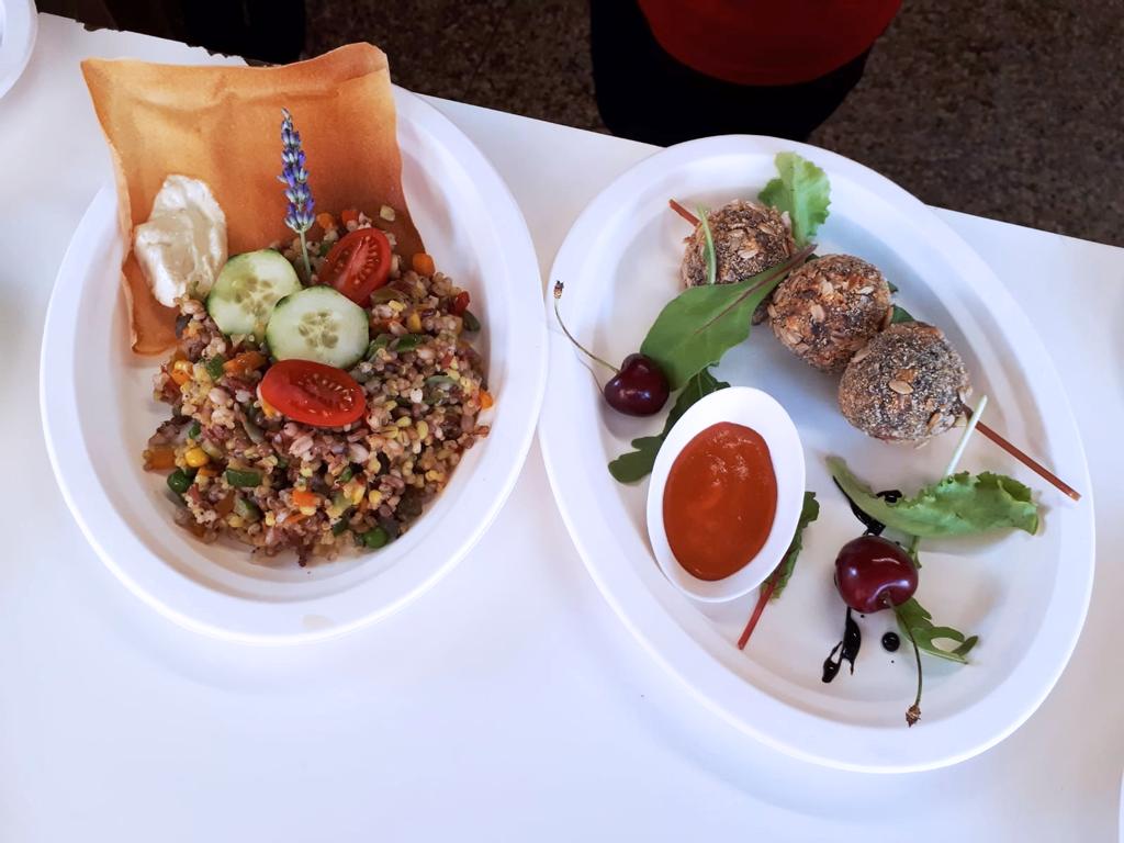 I piatti del menù di Pezzi e Bicchieri