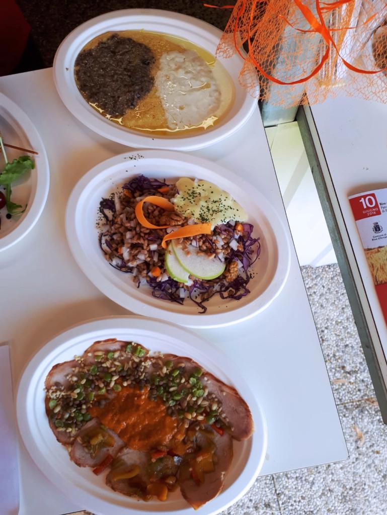 I piatti del menù di Antica bettola da Marisa